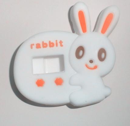 小白兔硅胶手表带
