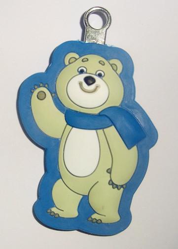 小熊双色硅胶